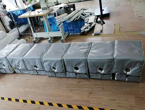 硫化机挤出保温套